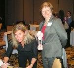 Kathy and Deb