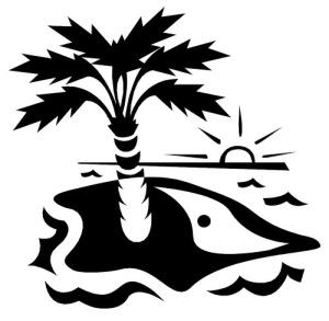 Palm Tree on Ocean