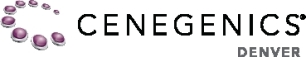 Cenegenics Denver Logo white background
